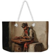 The Cimbalom Player Weekender Tote Bag