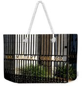 The Citadel In Charleston V Weekender Tote Bag
