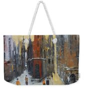 The City At Sunset Weekender Tote Bag