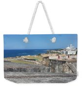 The City Awaits Weekender Tote Bag