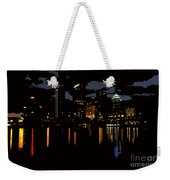The City Dark Weekender Tote Bag