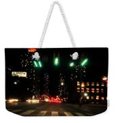 The City In A Rush Weekender Tote Bag