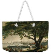 The City Of Philadelphia In The State Of Pennsylvania. North America Weekender Tote Bag