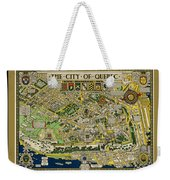 The City Of Quebec Canada Weekender Tote Bag