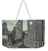 The City Shuffle Weekender Tote Bag