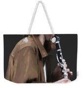 The Clarinet Player Weekender Tote Bag