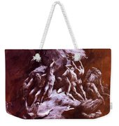 The Clash Of The Titans 1866 Weekender Tote Bag