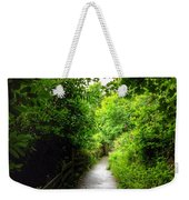 The Cliff Path At Lynton 4 Weekender Tote Bag