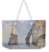 The Cliffs At Etretat Weekender Tote Bag