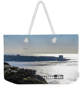 The Cliffs, Ocean And Sky At La Jolla, California Weekender Tote Bag
