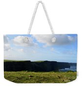 The Cliff's Of Moher In Ireland With Beautiful Skies Weekender Tote Bag