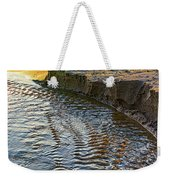 The Cliffs Of Sauble Weekender Tote Bag