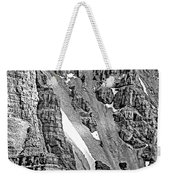 The Climb To Abbot's Hut Bw Weekender Tote Bag