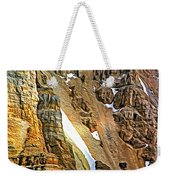The Climb To Abbot's Hut - Paint Weekender Tote Bag