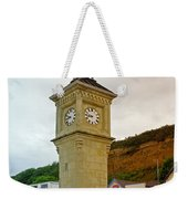 The Clock Tower At Shanklin Weekender Tote Bag