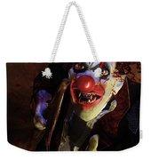 The Clown Weekender Tote Bag by Mary Hood