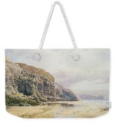 The Coast Of Cornwall  Weekender Tote Bag by John Mogford