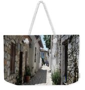 The Cobbled Back Streets Surrounding Old Marmaris Weekender Tote Bag