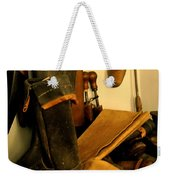 The Cobbler Weekender Tote Bag