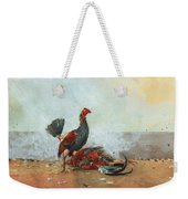 The Cock Fight Weekender Tote Bag