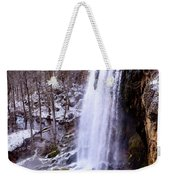 The Cold Morning Weekender Tote Bag
