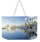 The Cold River Weekender Tote Bag