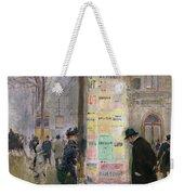 The Colonne Morris Weekender Tote Bag