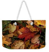 The Color Of Fall Weekender Tote Bag