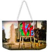 The Color Of Love Weekender Tote Bag