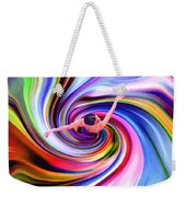 The Colorful Ballet Dress Weekender Tote Bag