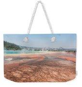 The Colorful Grand Prismatic Spring Weekender Tote Bag