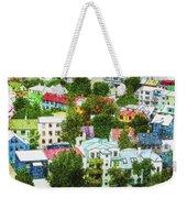 The Colors Of Reykjavik Weekender Tote Bag