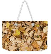 The Colors Of The Leaves In Autumn Weekender Tote Bag