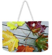 The Colours Of Autumn Weekender Tote Bag
