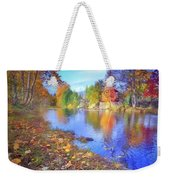 The Colours Of October Weekender Tote Bag