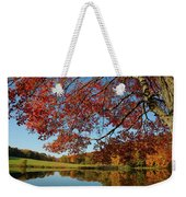 The Comfort Of Autumn Weekender Tote Bag