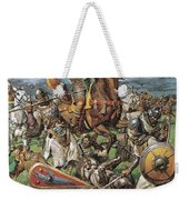 The Coming Of The Conqueror Weekender Tote Bag