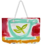 The Common Cure- Abstract Expressionist Art Weekender Tote Bag