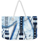 The Concorde Blueprint Weekender Tote Bag
