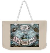 The Confederate Note Memorial  Weekender Tote Bag by War Is Hell Store