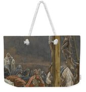 The Confession Of Saint Longinus Weekender Tote Bag by Tissot