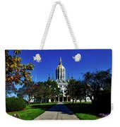 The Connecticut State Capitol Weekender Tote Bag