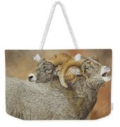 The Conquest - Bighorn Sheep Weekender Tote Bag