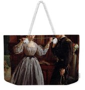 The Consecration Weekender Tote Bag by George Cochran
