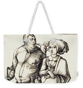 The Cook And His Wife Weekender Tote Bag