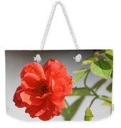 The Coral Rose Weekender Tote Bag