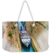 The Corinth Canal  Weekender Tote Bag