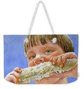 Andrew The Corn Eater Weekender Tote Bag