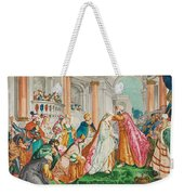 The Coronation Of Esther Weekender Tote Bag