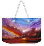 The Cosmic Storm II Weekender Tote Bag